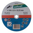wolfcraft 1 Trennscheibe Metall ø230x2,5x22,2mm Thumbnail