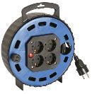 as-Schwabe 16307 Kabelbox TBS 10T blau, 7,5m H05VV-F 3G1,5 4 Steckdosen Thumbnail