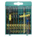 wolfcraft 1 Stichsägeblatt-Box sort., 10-teilig - 2358000 Thumbnail