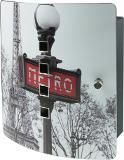 Burg Wächter Motiv-Schlüsselbox 6204/10 Ni Paris Metro Thumbnail