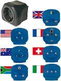 Brennenstuhl Reisestecker-Set mit 10A Sicherung Thumbnail