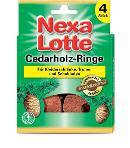Nexa Lotte Cedarholzringe 4 Stück Thumbnail