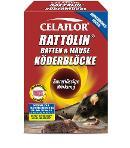 CELAFLOR Rattolin Ratten & Mäuse Köderblöcke 400g -Neu- Thumbnail
