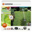 GARDENA 02708-20 Komplett-Set mit Vielflächen-Versenkregner Aq Thumbnail