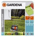 GARDENA 08221-20 Komplett-Set mit Viereck-Versenkregner OS 140 Thumbnail