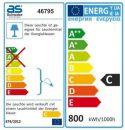 as-Schwabe 46795 Stativ + Halogenstr. 2x400W,2,5m H05RN-F 3G1,0 Thumbnail