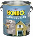 Bondex Dauerschutz-Holzfarbe Schneeweiß 4,00 l - 329892 Thumbnail