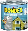 Bondex Dauerschutz-Holzfarbe Signalrot 0,50 l - 353365 Thumbnail