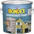 Bondex Dauerschutz-Holzfarbe Silbergrau 2,50 l - 329875 Thumbnail