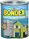 Bondex Dauerschutz-Holzfarbe Moosgrün 0,75 l - 329884 Thumbnail