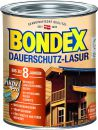 Bondex Dauerschutz-Lasur Weiß 0,75 l - 329931 Thumbnail