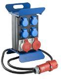 as-Schwabe 60845 Stromverteiler STECKY 1+, 2m H07RN-F 5G2,5  Thumbnail