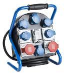 as-Schwabe 60902 Stromverteiler VTG9 Modell 1,2m H07RN-F 5G2,5  Thumbnail