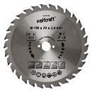 wolfcraft 1 Kreissägeblatt HM, 30 Zähne ø190mm - 6376000 Thumbnail