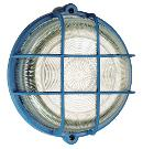 as-Schwabe 66004 Rundleuchte 100W,blau,Kristallglas ,Fassung E27 Thumbnail