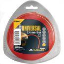 UNIVERSAL Trimmerfaden Nylon 2,4 mm, 15 m, NLO005 Thumbnail