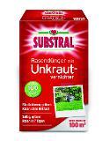 SUBSTRAL Rasendünger mit Unkrautvernichter f. 100 m² 2kg -Neu- Thumbnail