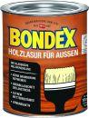 Bondex Holzlasur für Außen Kalk Weiß 0,75 l - 377940 Thumbnail