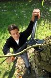 FISKARS PowerStep Astschere, Amboss 112850 Thumbnail