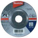 MAKITA Schruppscheibe 2in1 125mm 40Stk. (B-21244-40) Thumbnail