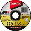 MAKITA Trennscheibe 115x0,8mm Metall (B-45727) Thumbnail