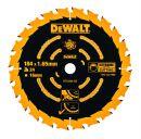 DeWalt Kreissaegeblatt Handkr. 184/16mm 40WZ - DT10303-QZ Thumbnail