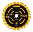 DeWalt Kreissaegeblatt Akku 165/20mm 40WZ - DT10640-QZ Thumbnail