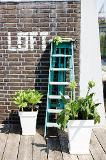 ELHO Loft Urban Square High 30x30 cm - weiß - 349619 Thumbnail