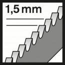 Bosch Stichsägeblatt T 118 EOF Flexible for Metal, 5er-Pack 2608634237 Thumbnail