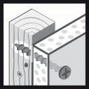 Bosch Schnellbauschraube Grobgewinde 3,9x25 2608000547 Thumbnail