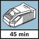 Bosch Akku-Kreissäge GKM 18 V-LI, mit 2 x 4,0 Ah Li-Ion Akku, L-BOXX 06016A4000 Thumbnail