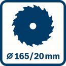 Bosch Handkreissäge GKS 55+ G 0601682000 Thumbnail
