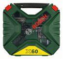 Bosch 60-teiliges X-Line Classic Bohrer- u. Schrauberset 2607010611 Thumbnail