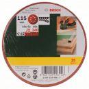 Bosch Schleifblatt-Set für Exzenterschleifer 2607019496 Thumbnail