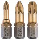 Bosch 3tlg. Schrauberbit-Set Max Grip (PZ) 2607001755 Thumbnail