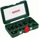 Bosch 12-teiliges HM-Fräser-Set (Ø 8 mm Schaft) 2607019466 Thumbnail
