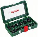 Bosch 15-teiliges HM-Fräser-Set (Ø 1/4