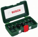 Bosch 6-teiliges HM-Fräser-Set (Ø 8 mm Schaft) 2607019463 Thumbnail