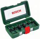 Bosch 6-teiliges HM-Fräser-Set (Ø 6 mm Schaft) 2607019464 Thumbnail