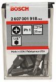 Bosch Schrauberbit Extra-Hart 2607001918 Thumbnail