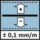 Bosch Optisches Nivelliergerät GOL 20 D, mit Baustativ BT 160, Messstab GR 500 061599404R Thumbnail