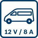 Bosch Autoladegerät GAL 1830 W-DC und Wireless Charging Holster 1600A00C4A Thumbnail