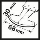 Bosch Diamant-RIFF Segmentsägeblatt MATI 68 RD4 2608662620 Thumbnail