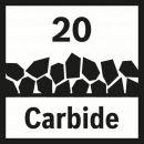 Bosch Carbide-RIFF Schleifplatte AVZ 78 RT2 2608662600 Thumbnail