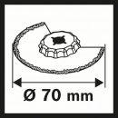 Bosch Schmalschnitt-Segmentsägeblatt ACZ 70 RT5 2608661692 Thumbnail