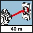 Bosch Linienlaser GLL 3-80 P, mit  Baustativ BT 250 060106330B Thumbnail