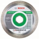 Bosch Diamanttrennscheibe Standard for Ceramic, 125 x 22,23 x 1,6 x 7 mm, 1er-Pack 2608602202 Thumbnail
