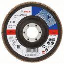 Bosch Fächerschleifscheibe X431, Standard for Metal, gewinkelt, 115 mm, 22,23 mm, 120 2608603655 Thumbnail