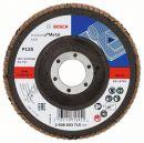 Bosch Fächerschleifscheibe X431 Standard for Metal, gerade, 115 mm, 120, Glasgewebe 2608603715 Thumbnail