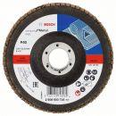 Bosch Fächerschleifscheibe X431 Standard for Metal, gerade, 125 mm, 40, Glasgewebe 2608603716 Thumbnail